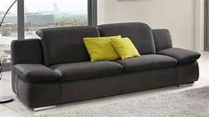 3 Sitzer Couch : sofa isona 3 sitzer anthrazit mit kopfteilverstellung armteilfunktion ~ Bigdaddyawards.com Haus und Dekorationen