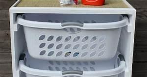 Wäscheschrank Für Schmutzwäsche : 11 platzspar tricks f r waschmaschine und co ~ Frokenaadalensverden.com Haus und Dekorationen