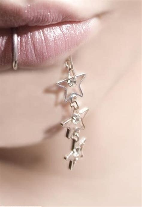 beautiful examples  lip piercings piercingeasilycom