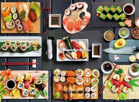 500 Piece Sushi Puzzle - Franklin's Toys