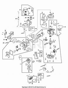 Mtd 1p70mc Engine Parts Diagram For Engine Assembly 1p70mc