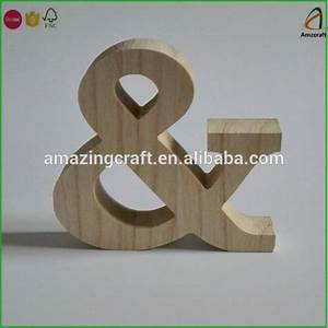 customized wood cutout crafts letters numbers signs buy With craft numbers and letters