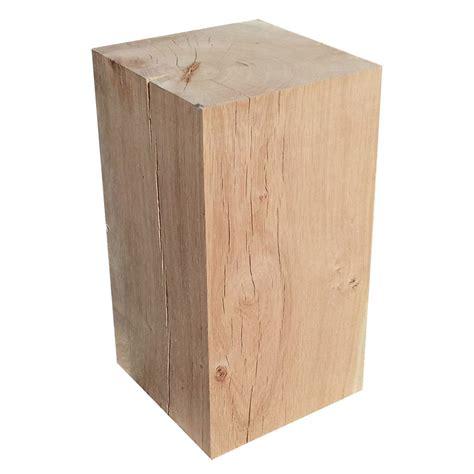 Cube En Bois Cube Ch 234 Ne Massif L24 X L24 X H45cm Leroy Merlin