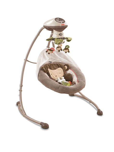 Cheap Swing Baby by Fisher Price Swing So In With This Monkey