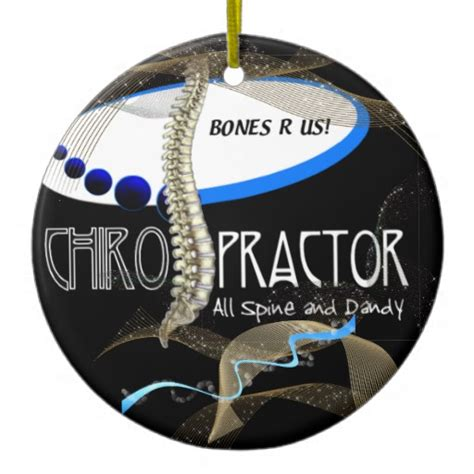 bones r us chiropractor christmas ornament zazzle