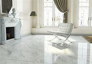 White Polished Floor Tile