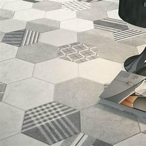 Carrelage Vert D Eau : carrelage hexagonal vert d 39 eau carrelage de maison ~ Melissatoandfro.com Idées de Décoration