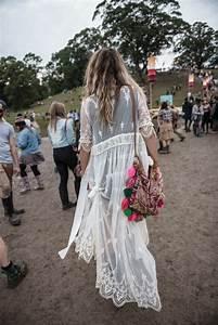Robe Blanche Longue Boheme : 70 id es avec la robe blanche dentelle en tendance ~ Preciouscoupons.com Idées de Décoration