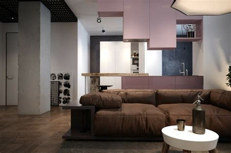 bar pour separer cuisine salon meuble séparation cuisine salon en 55 idées