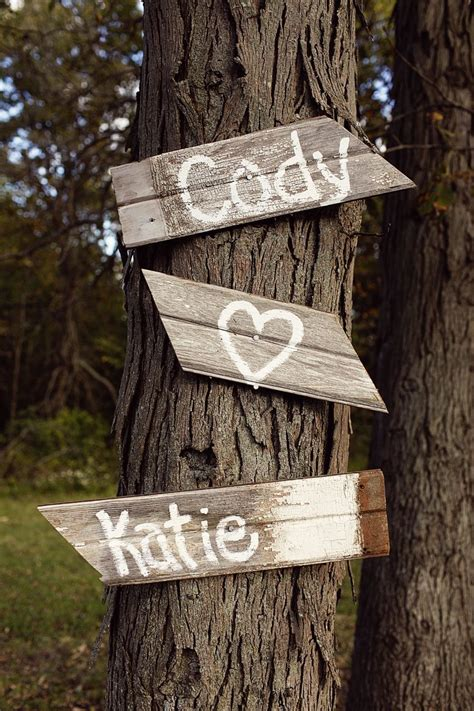 Tree Signs Megs Country Wedding Pinterest