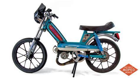 Peugeot Moped by Peugeot 103 Ss Custom Race Bike Detroit Moped