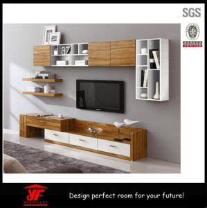 China Combination Of Modern Wooden Furniture Lcd Tv Stand