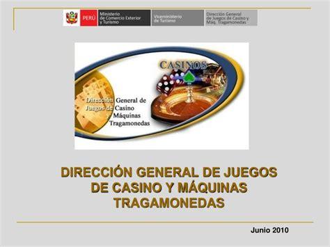 Direccin General de Juegos de Casinos y Mquinas Tragamonedas