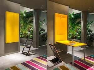 Moderne Küchen Für Kleine Räume : enge und kleine r ume einrichten mit modernem klapptisch freshouse ~ Frokenaadalensverden.com Haus und Dekorationen