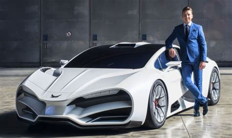 Milan Red Revealed  Austrianmade Hypercar With 1,306 Hp