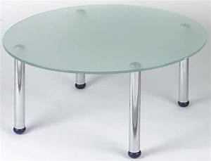 glass coffee tables jbl office With round glass coffee table with chrome legs