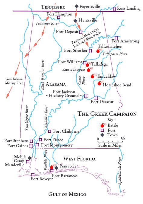 alabama trails war  maps