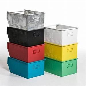 Casier Metal Empilable : casier rangement metal ca44 jornalagora ~ Teatrodelosmanantiales.com Idées de Décoration
