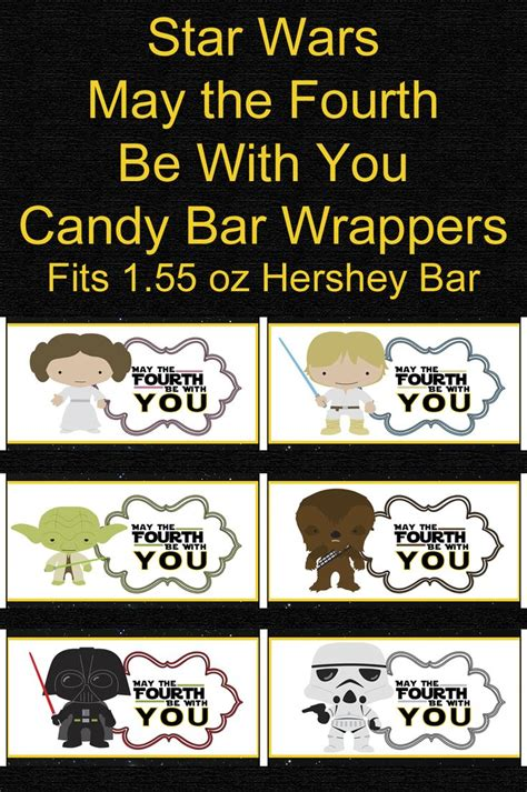 FREE Star Wars May The Fourth Be With You Party Printables ...