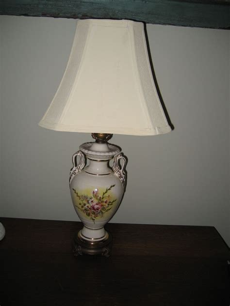 hometalk painted lamp shade  cream color chalk paint