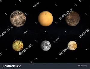 A Comparison Between The Jupiter Moons, The Earth Moon And ...