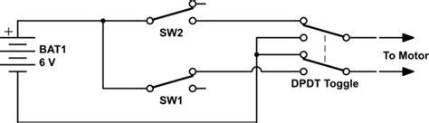 Digital Logic Motor Polarity Reversing Circuit Using