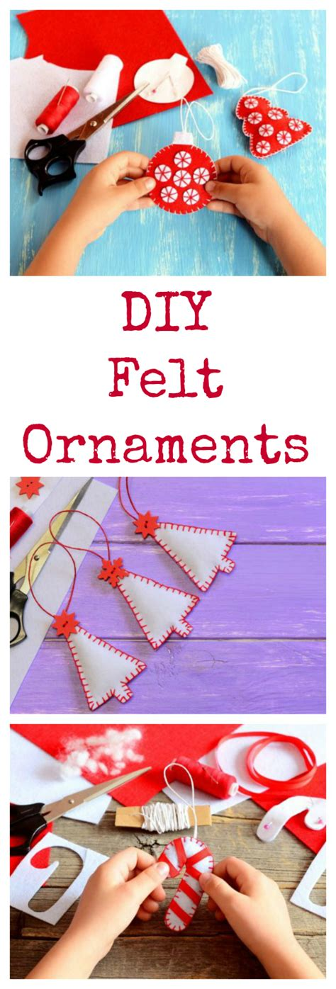 Homemade Felt Christmas Tree Ornaments  Chicnsavvy Reviews