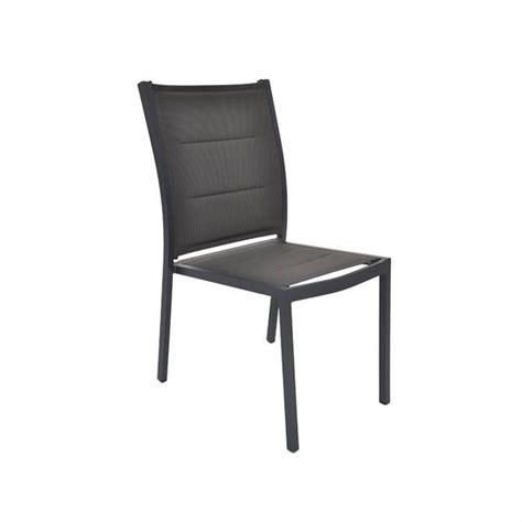 chaise de jardin textil 232 ne boston anthracite achat