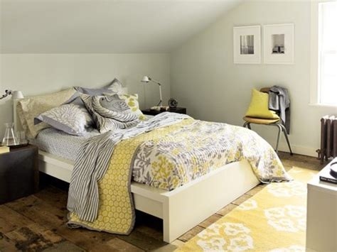 17 Best Ideas About Gray Yellow Bedrooms On Pinterest