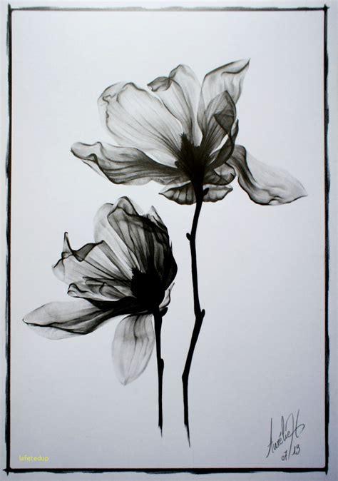 fleur de cerisier tatouage noir  blanc kolorisse