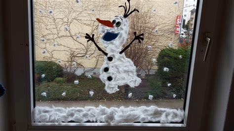 Fensterdeko Weihnachten Fingerfarbe by Winter Fensterdeko Selber Machen Diy Der Familienblog