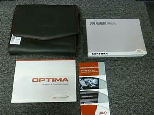 2016 Kia Optima Sedan Owner Owner U0026 39 S Manual User Guide Set