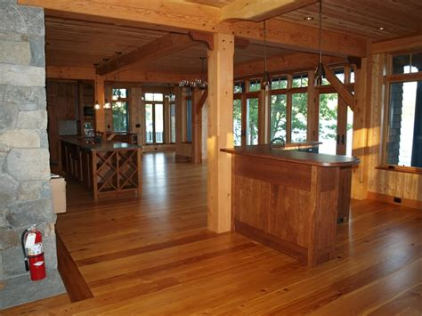 Home Interior : Design Details In A Timber Frame Home