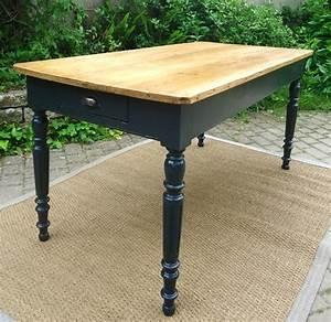 Table Cuisine Rectangulaire : table ancienne bois ~ Teatrodelosmanantiales.com Idées de Décoration