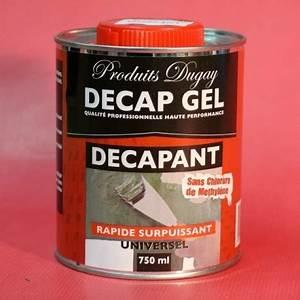 decapant puissant en gel pour bois peints ou vernis With peinture sur vernis bois