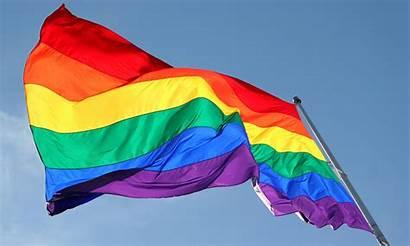 Rainbow Flag Lgbt Gay Lesbian Queer Couple