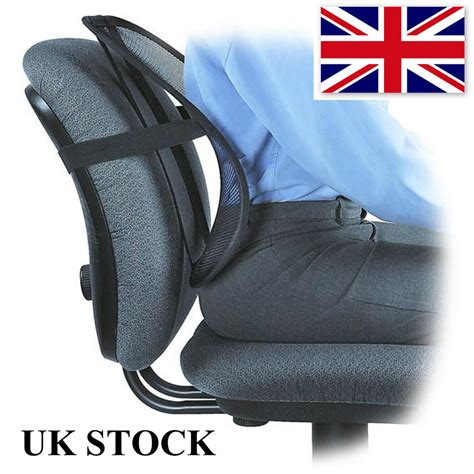 support lumbar cushion pain relief car seat chair