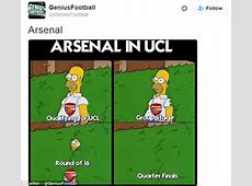 Arsenal draw Barcelona in Champions League, as Twitter
