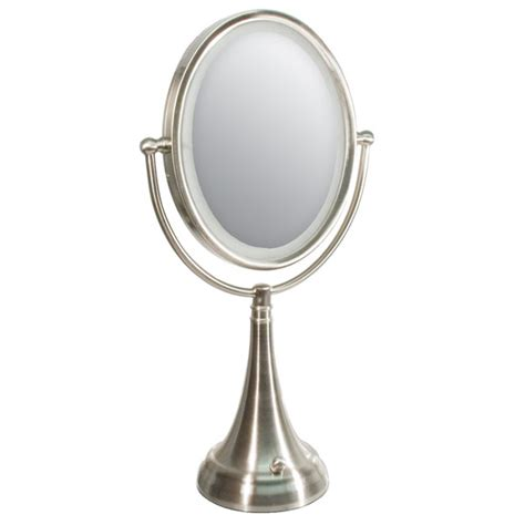 Lighted Magnifying Makeup Mirror by Mat Lipstick Lighted Magnifying Makeup Mirror 20x