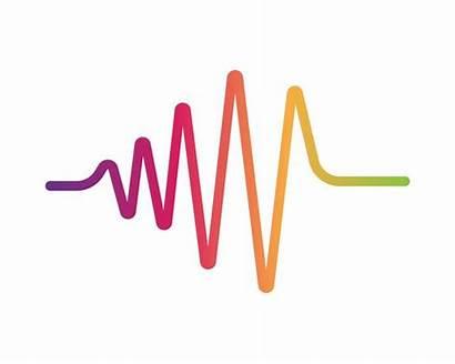 Sound Waves Illustration Vector Clipart