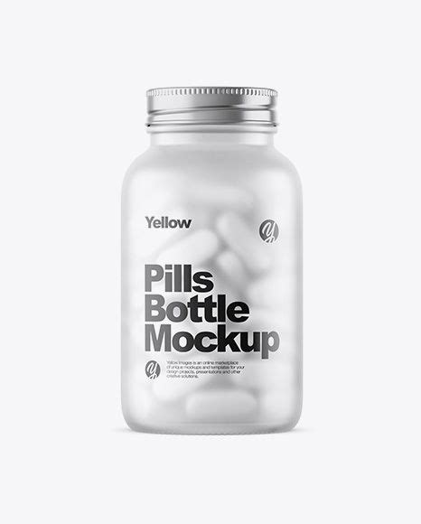 Bring the most popular material for your designs, especially if it's 100% safe to use plastic in digital. Free Mockups Frosted Glass Bottle With White Pills Mockup ...