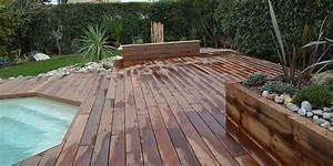 amenagement exterieur d39une piscine marseille With amenagement exterieur terrasse maison 4 amenagement dun jardin en restanques aix jardin