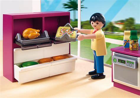 cuisiner avec un micro onde playmobil 5582 cuisine avec îlot achat vente univers