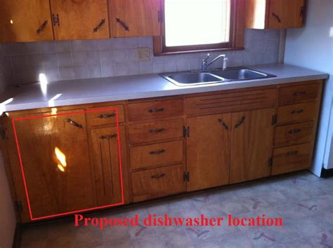 kitchen sink location is this a bad location for a dishwasher pics 2770