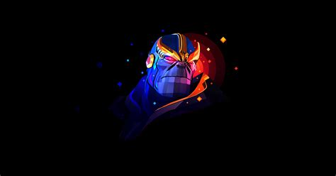 Thanos Artwork By Justin Maller Hd 4k Wallpaper