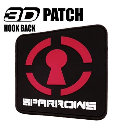 Großer 3D Patch Sparrows - Lockpicking Sets