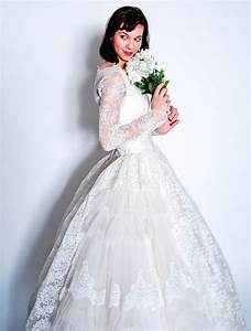 all white wedding dress ballgown lace sleeves onewedcom With white lace wedding dress with sleeves