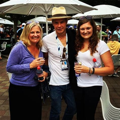 timothy olyphant spotted enjoying  tennis open match