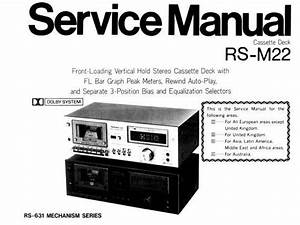 K1200lt Tape Deck Wiring Diagram : technics rs m22 stereo cassette tape deck service manual ~ A.2002-acura-tl-radio.info Haus und Dekorationen