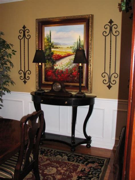 Dining Room Makeover, Updated Wall Color From Cranberry